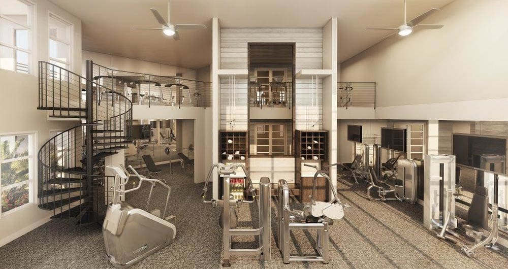 Fitness Center at 50 Paramount