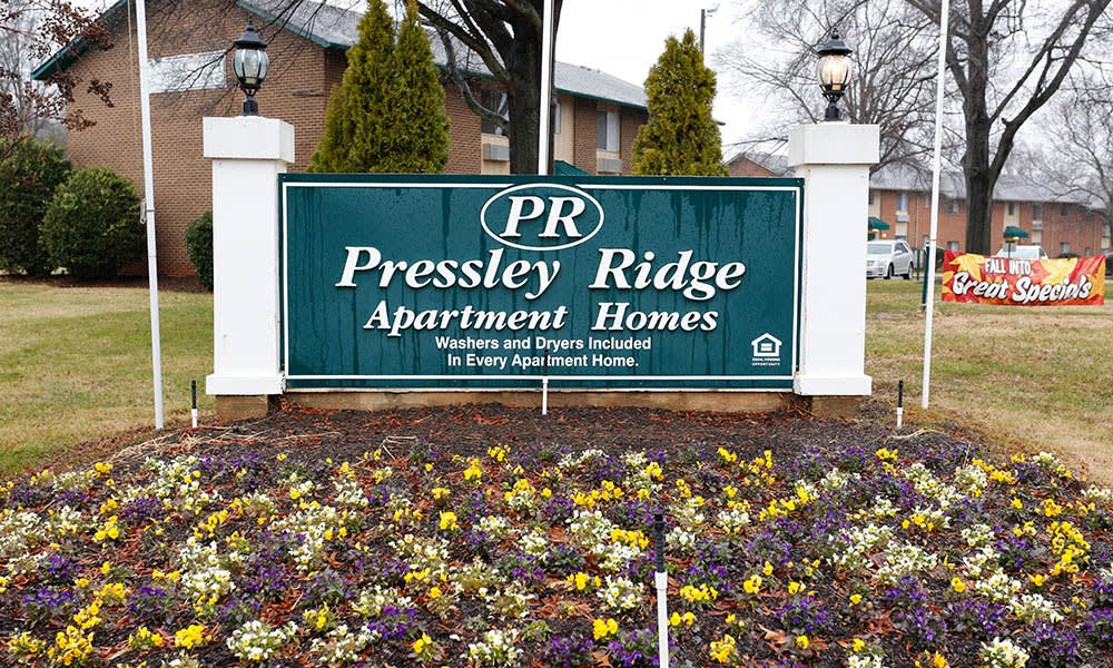 A lovely glance at the wonderful Pressley Ridge Apartments.