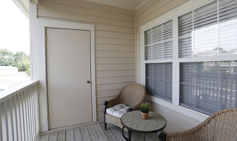 Balcony at Lexington Farms Apartment Homes in Overland Park