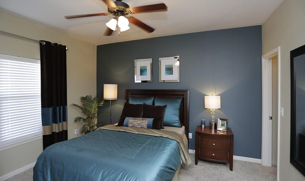 Bedroom at Lexington Farms Apartment Homes in Overland Park