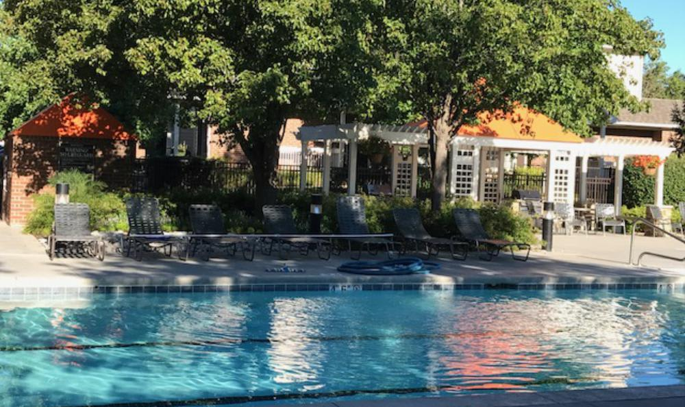 Pool at Lexington Farms Apartment Homes in Overland Park