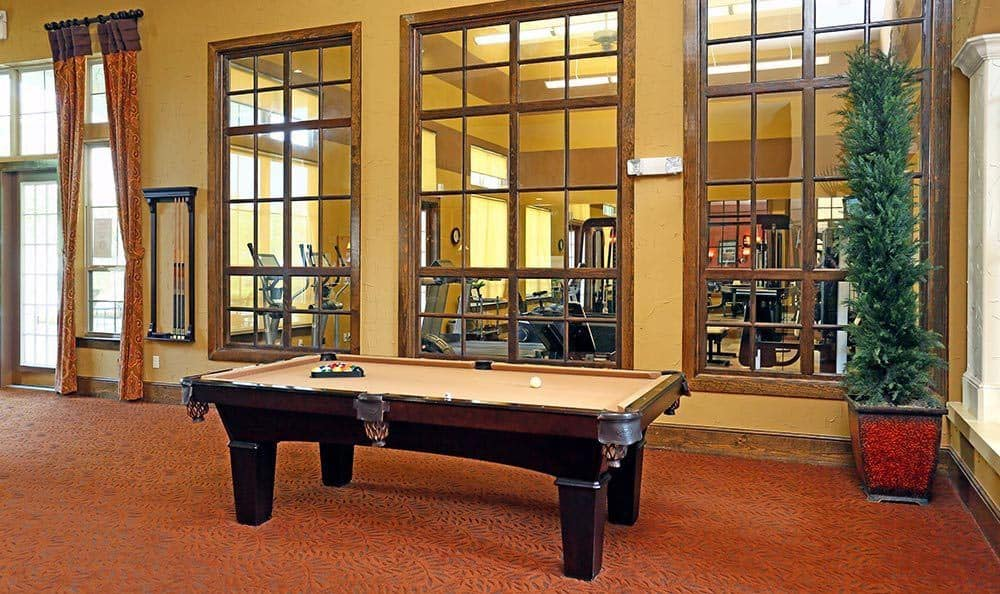 Billiards at Sorrento at Tuscan Lakes