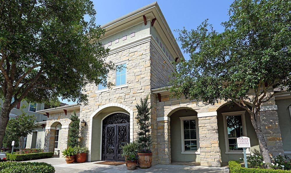 Clubhouse Exterior at Sorrento at Tuscan Lakes