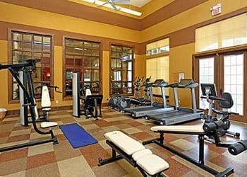 Fitness center at Sorrento at Tuscan Lakes