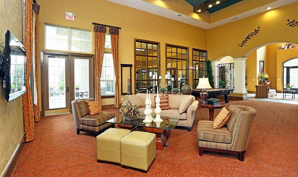 Interior of the Clubhouse at Sorrento at Tuscan Lakes