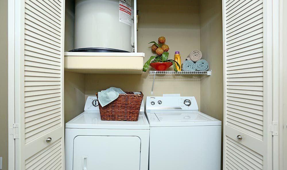 Laundry Area at Sorrento at Tuscan Lakes apartments