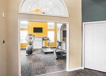 Fitness Center at Plaza Townhomes at The Medical Center