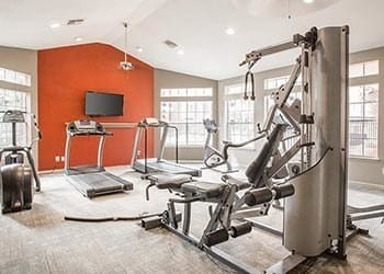 Sate-of-the-art fitness center at Vie at The Medical Center