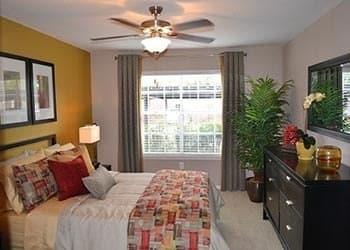 Bedroom at Vie at The Medical Center
