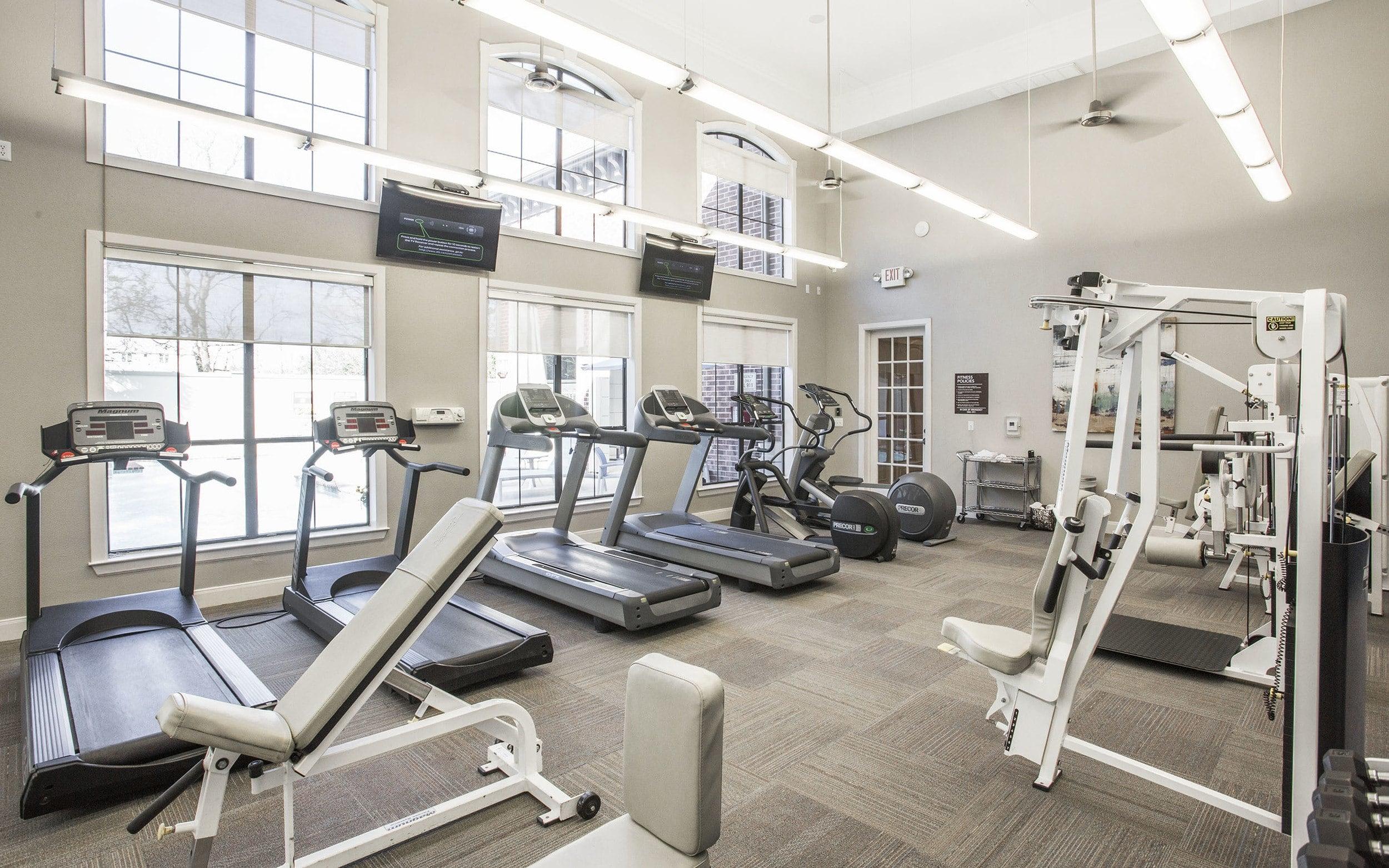 Fitness Center at Verdir at Hermann Park in Houston, Texas