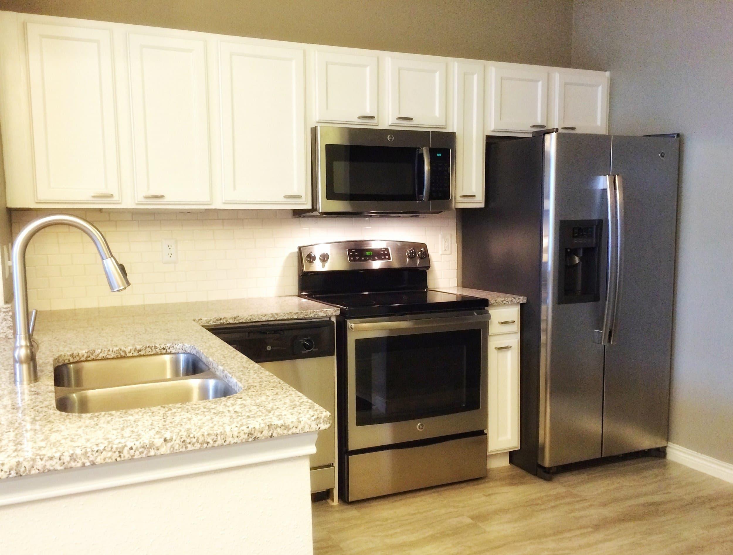 Kitchen at Verdir at Hermann Park in Houston, Texas
