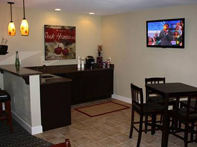 Residents lounge at apartments in Columbia, SC