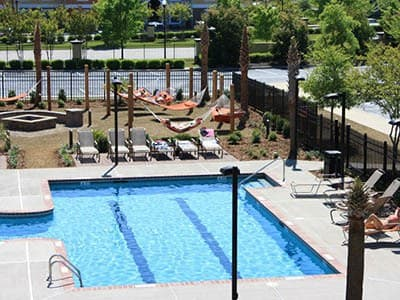 Pool at Stadium Suites in Columbia, SC
