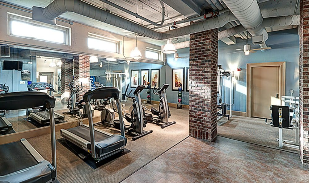 Our 24-hour fitness center is all you'll need to get into - and maintain - excellent condition here at The Depot.