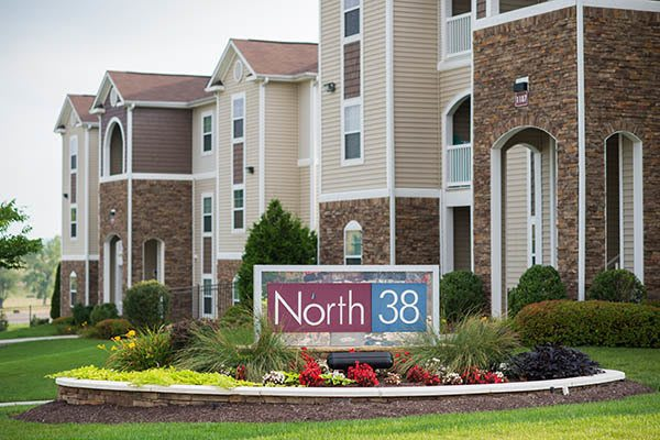 North 38 Apartments Signage Home Gallery in Harrisonburg, VA