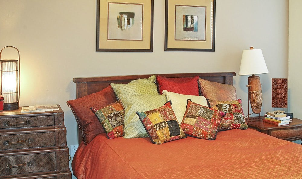 Our apartments homes' bedrooms are spacious and comfortable at our luxury community here in Mesquite, TX