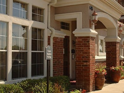 Exterior view of our office at Alexis at Town East in Mesquite, TX.