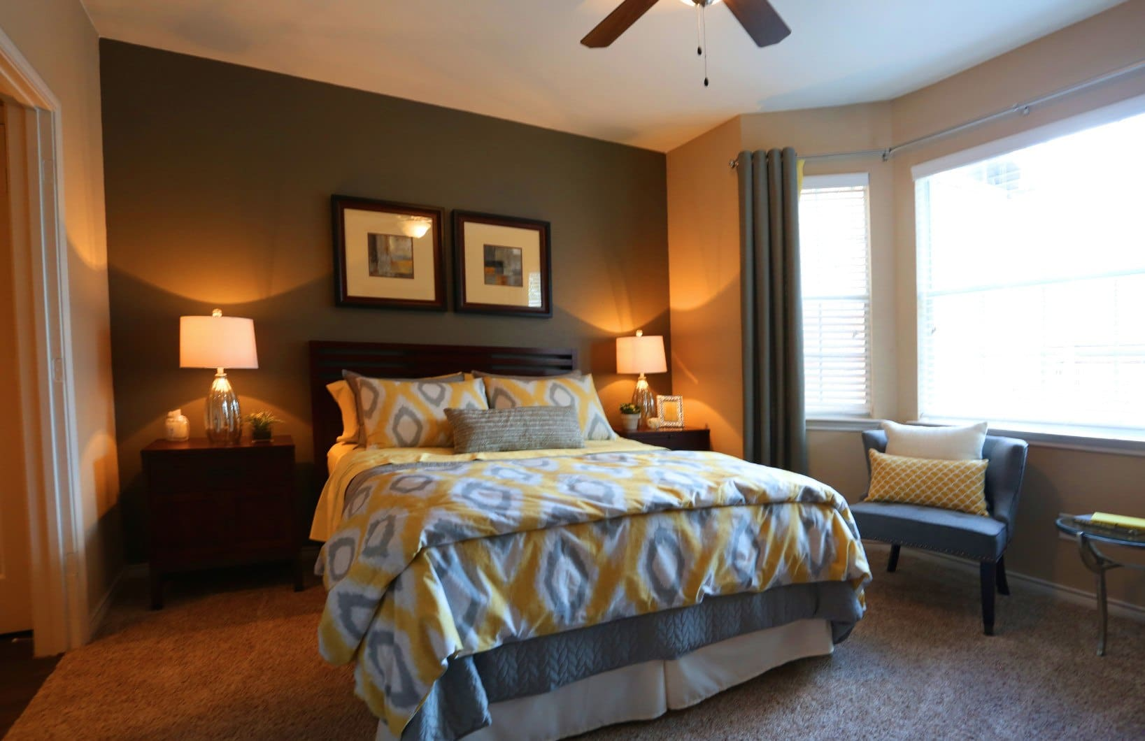 Bedroom at Southwind at Silverlake Apartments in Pearland, TX