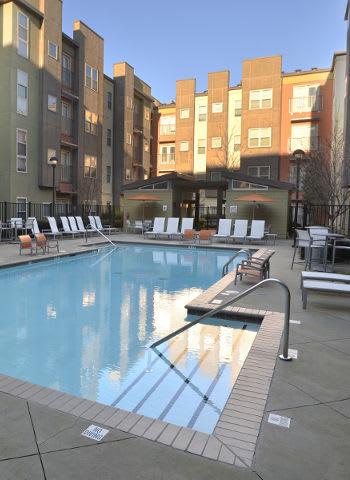 Enjoy the pool at The Flats in Atlanta