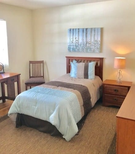 Bedroom at Glenwood Apartments