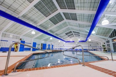 Indoor pool at apartments for rent at Mill Pond Village Apartments in Salisbury, Maryland