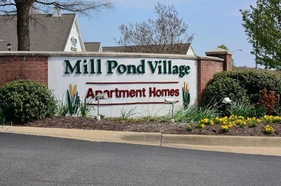 Apartments for rent at Mill Pond Village Apartments in Salisbury, Maryland