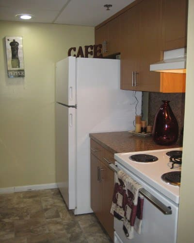 Kitchen at our wonderful apartment community here in North Miami, FL