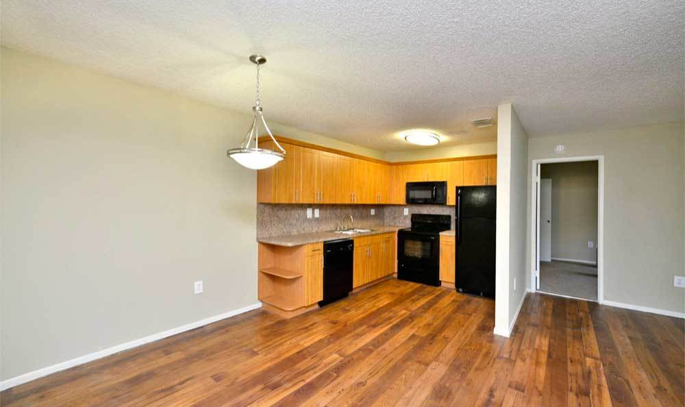 Kitchen at Fairway View Apartments in Hialeah