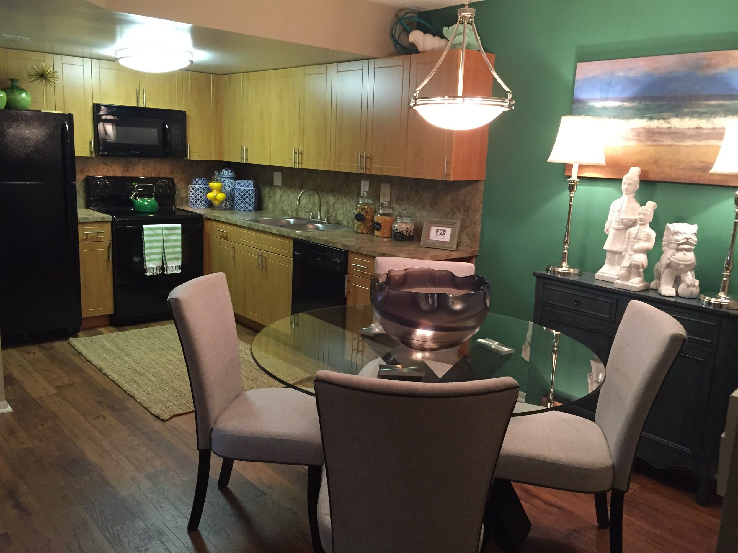 Dining Room at Fairway View Apartments in Hialeah, Florida