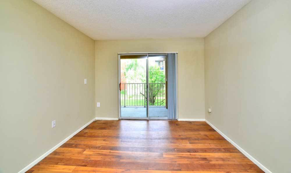 Hardwood floors available at Fairway View Apartments in Hialeah.