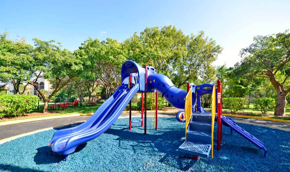 Playground at Fairway View Apartments in Hialeah.