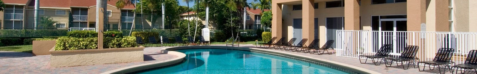 1, 2 & 3 bedrooms offered at apartments in West Palm Beach