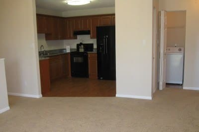 Open floor plans at apartments for rent at Azalea Village Apartments.