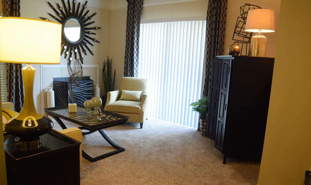 Living Room at Mariners Crossing in Raleigh, North Carolina