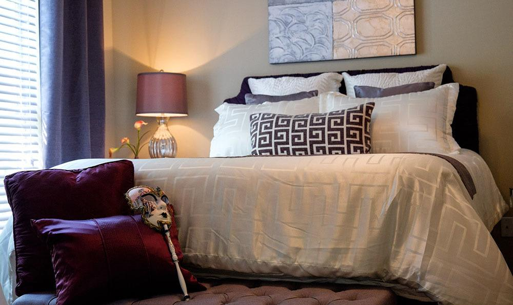 The bedrooms are spacious at Palmetto Pointe apartment homes!