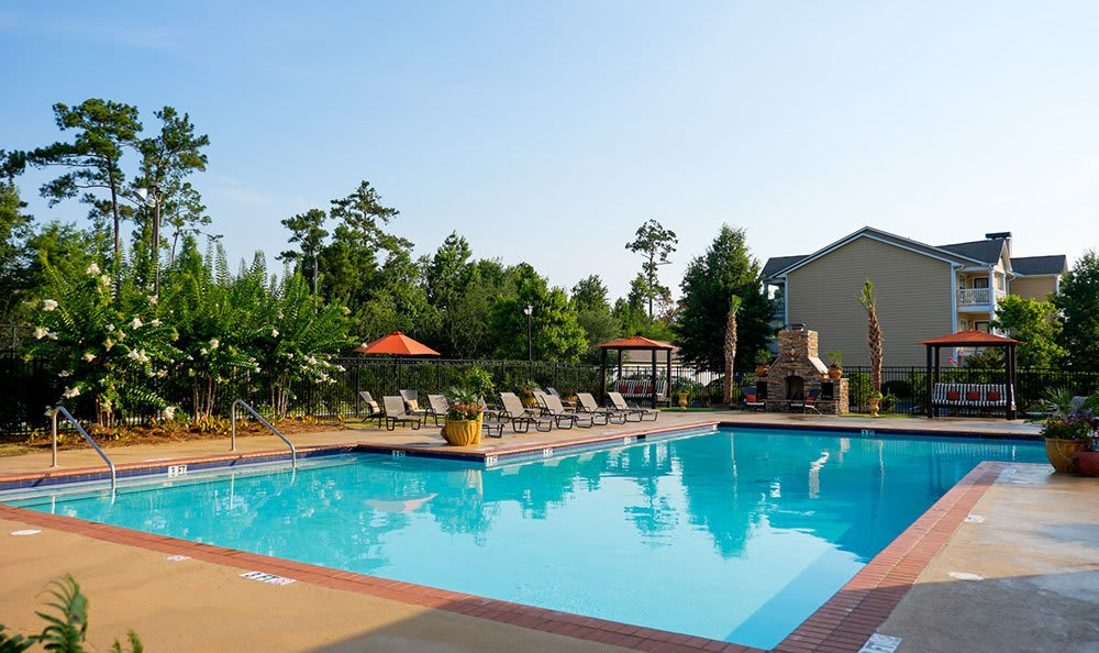 Take a dip in our sparkling swimming pool when the weather is hot here in Myrtle Beach, SC