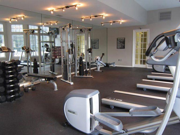 Fitness center at The Marquis of Tampa