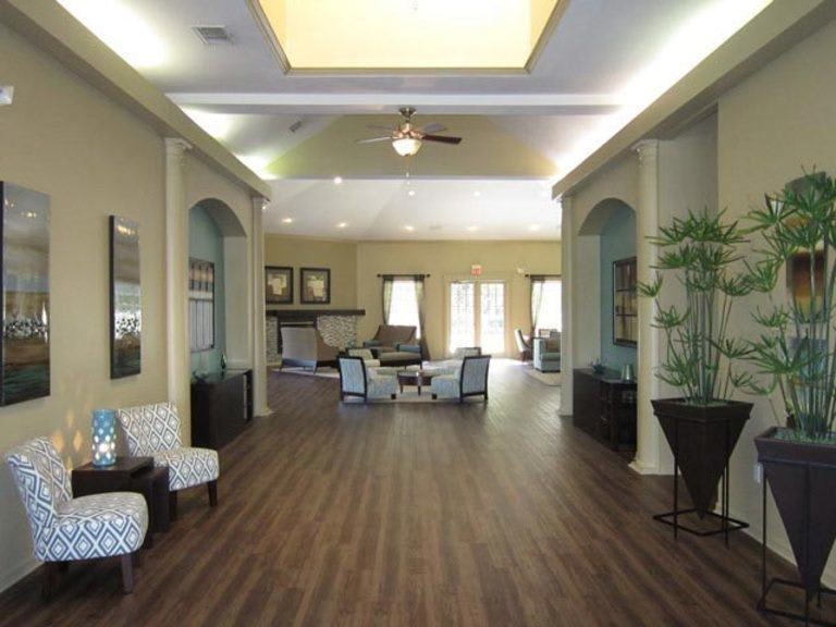 Lobby at apartments for rent in FL