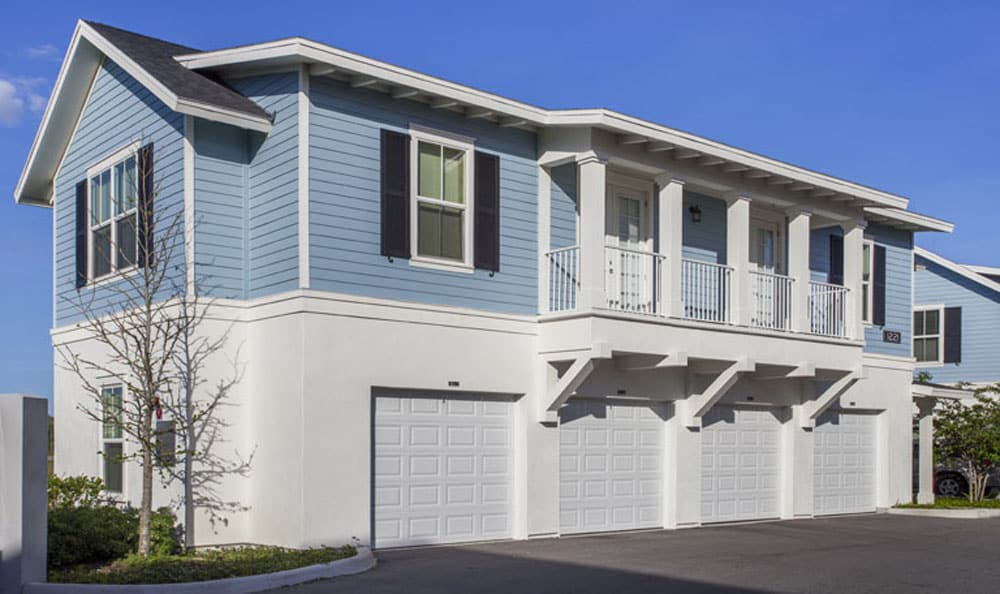 Apartments with attached garages at Emerson at Celebration in Celebration, FL