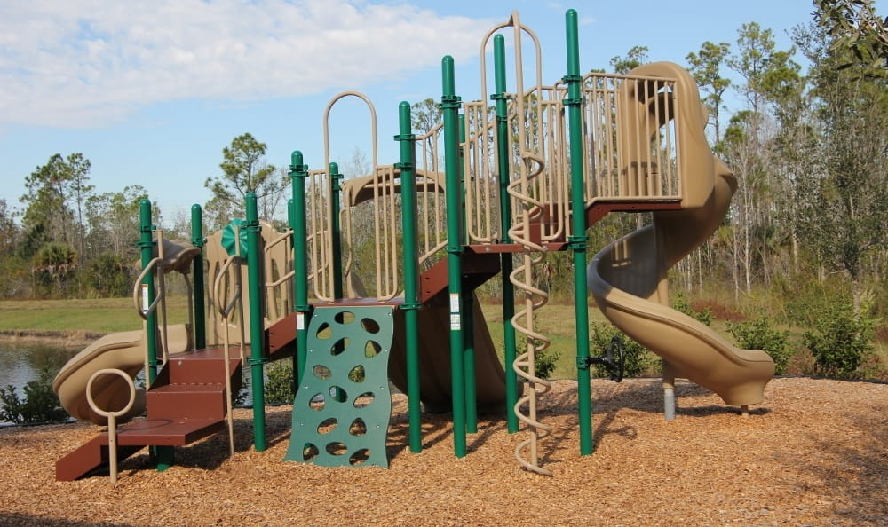 Our Celebration apartments has a playground