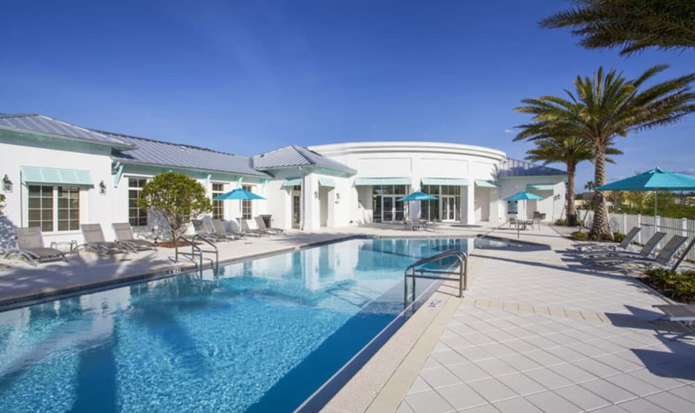 Resort-style pool at Emerson at Celebration in Celebration, FL