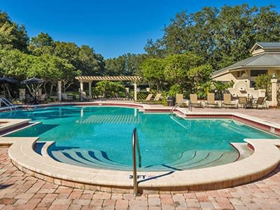 Pool at Palencia Apartments in Tampa, FL