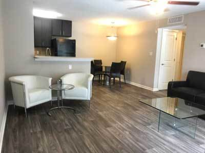 Spacious floor plans at the apartments for rent in Tampa