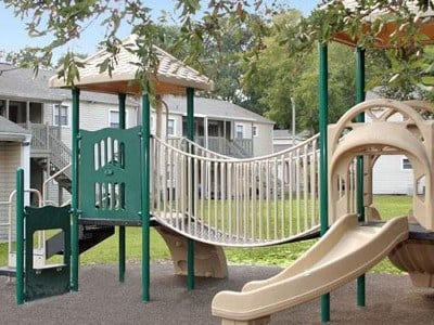 Enjoy our playground at Creekwood Apartment Homes.