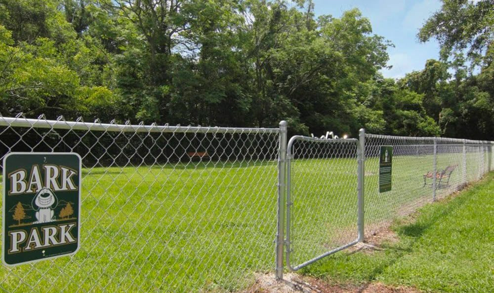 Dog park at Creekwood Apartment Homes in Jacksonville