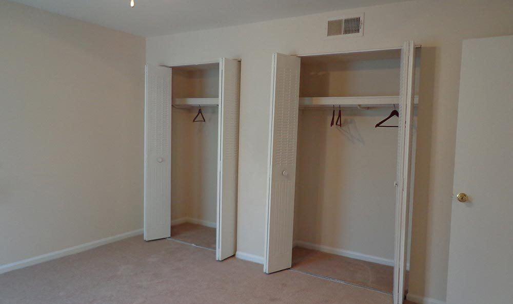 Ample closet space at apartments in Douglasville, GA