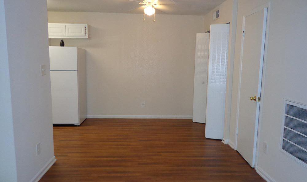 Hardwood floors at Brookview Apartment Homes in GA
