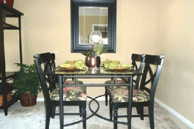 Dining room at Brookview Apartment Homes in GA