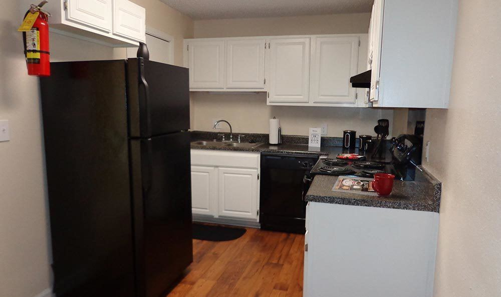Kitchen at Brookview Apartment Homes in Douglasville