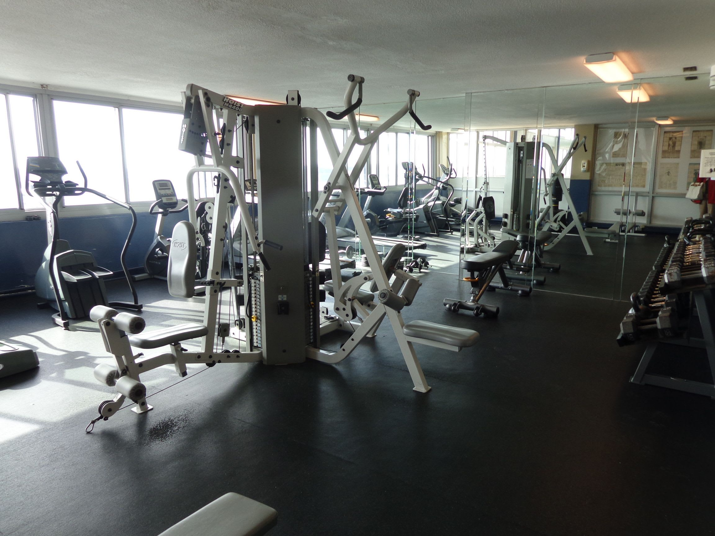 Fitness Center at Hague Towers in Norfolk, Virginia